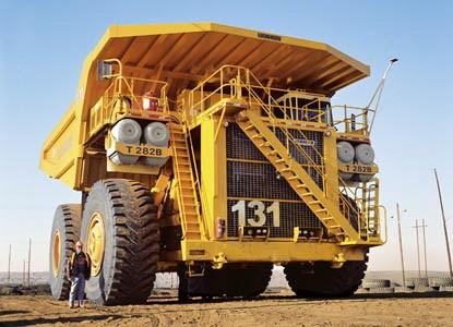 Самый большой автомобиль в мире Liebherr...
